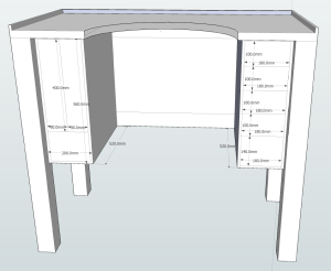 Jewelers Bench plans with dimentions 2